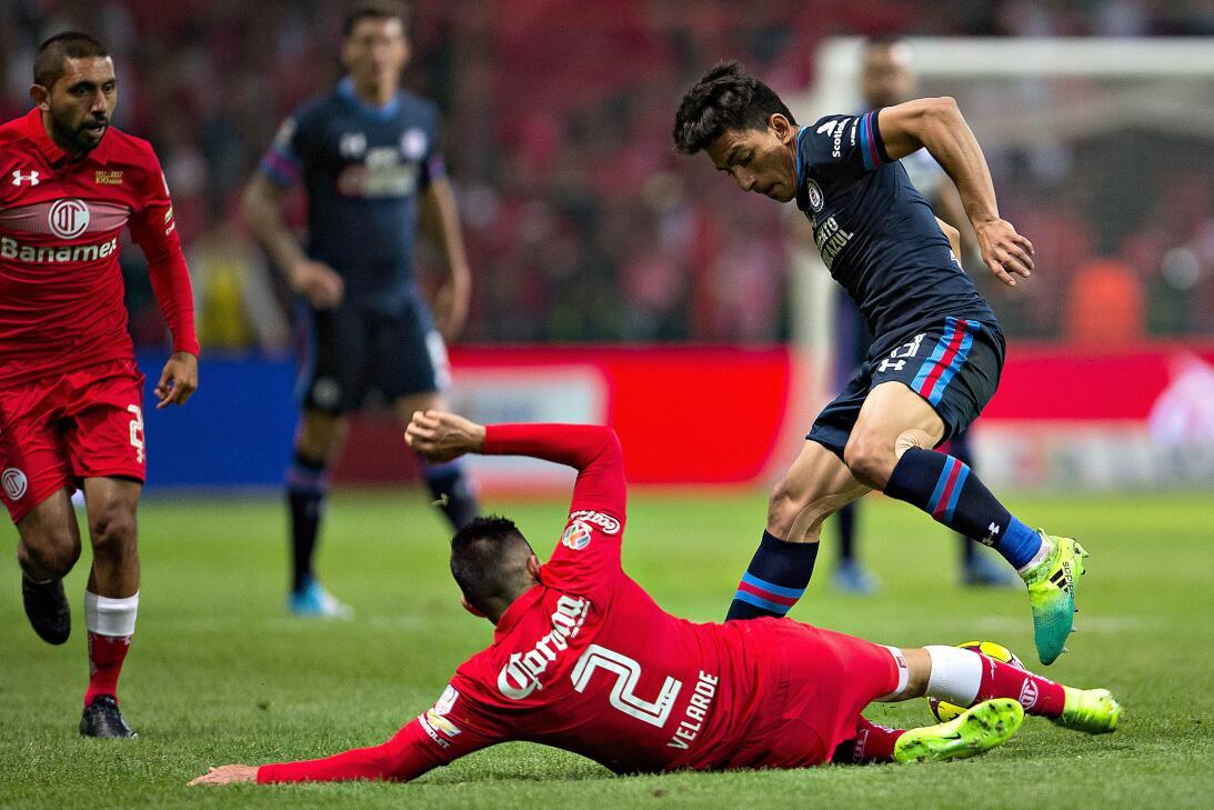 ¡Hoy no hubo infierno para Cruz Azul! La Máquina venció 2-0 al Toluca An...