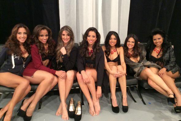 Una última foto para el recuerdo, pues algunas de estas chicas no seguir...