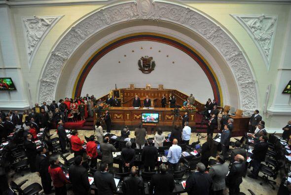 Fernando Soto Rojas, presidente de la Asamblea Nacional, dio su primer d...
