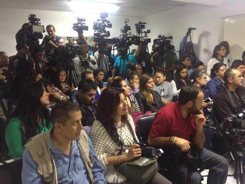 medios de comunicación en conferencia