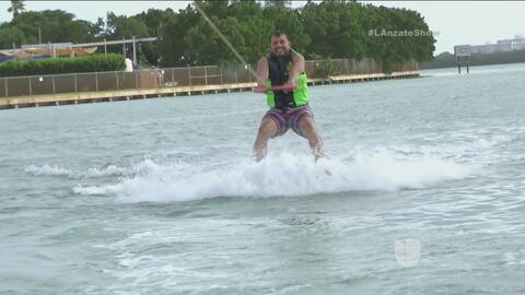 Fer y Luis se fueron a esquiar en Miami y compitieron ¿quién habrá ganado?
