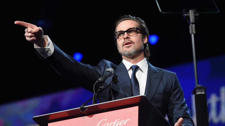 Surgieron rumores sobre la sexualidad de Brad Pitt.