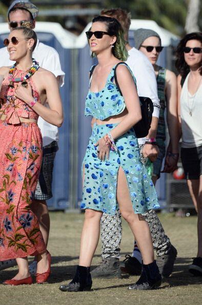 ¿Qué opinas de 'look' que usó Katy Perry? Nosotros creemos que los color...