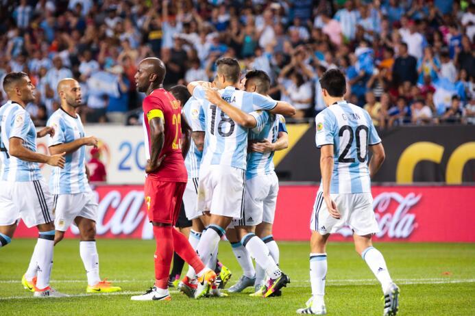 Messi conquistó el Soldier Field y llevó a la Albiceleste a la victoria...