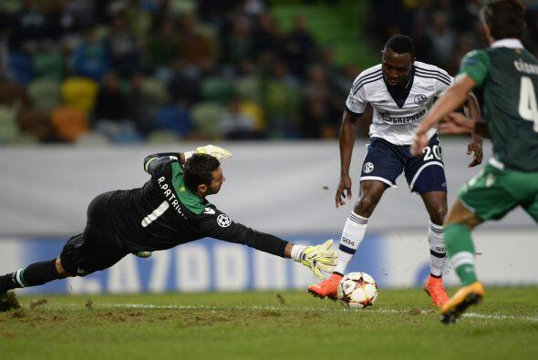 En un partido de muchos goles, el Sporting Lisboa consiguió una importan...