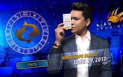 Niño Prodigio - Piscis 29 de junio 2017