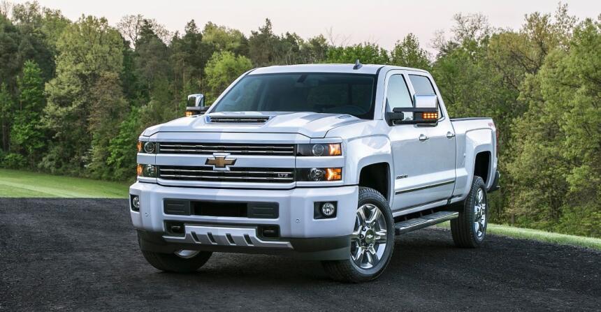 El segmento de pick ups para trabajos más pesados tiene en la Chevrolet...