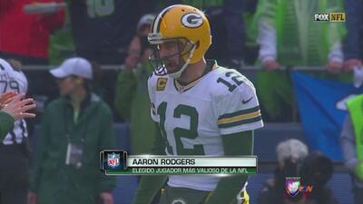 Aaron Rodgers es el MVP de la temporada regular de la NFL