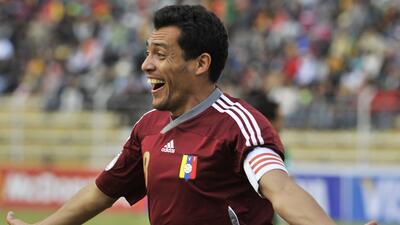 Arango jugó 16 años con la selección de Venezuela