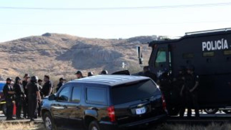 La policía investiga los crímenes en Tamaulipas.