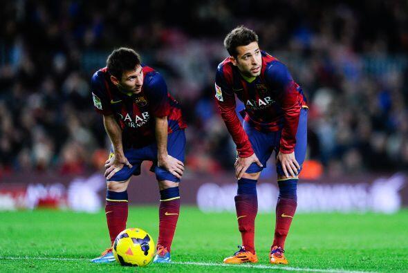 Los goles de Gerard Piqué (40), Pedro Rodríguez (55) y el chileno Alexis...