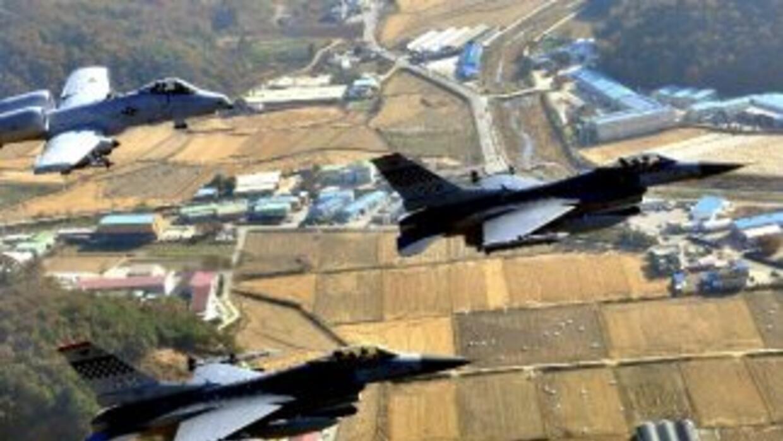 Imagen tomada del perfil de Facebook de la Osan Air Base.