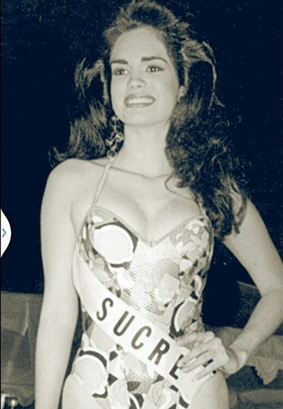 Ya que andamos en el moode del Miss Venezuela pues aquí está mi #TBT en...