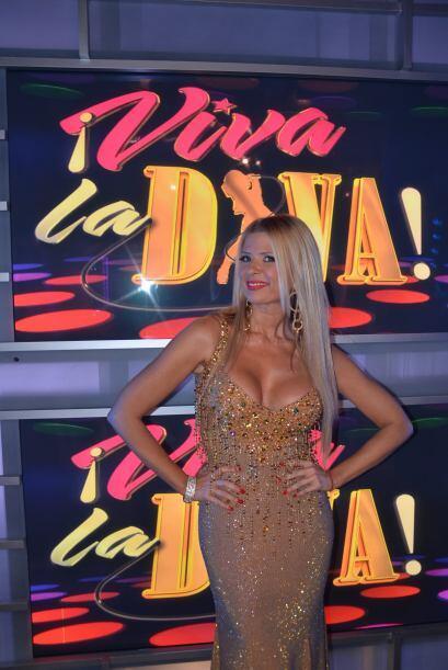 Para la gran final de Viva La Diva, Sissi Fleitas lució un espect...