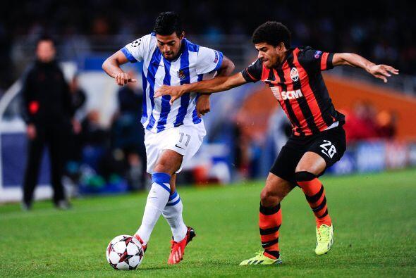 La Real Sociedad, con Carlos Vela incluido, debutaba en su casa, el esta...