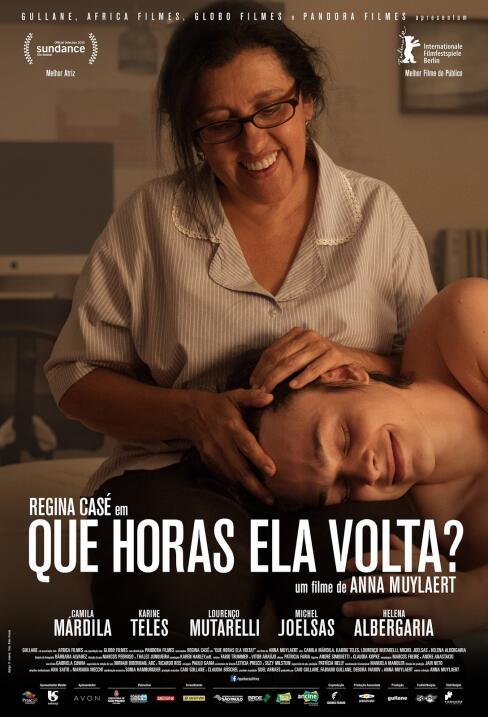 Que Horas Ela Volta? (2015), BrasilDirectora: Anna MuylaertGuión: Anna M...
