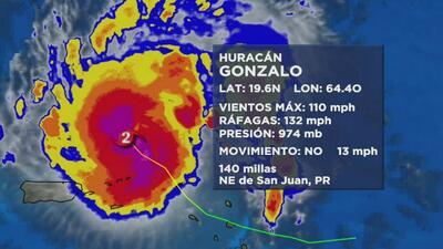 Se aleja el huracán Gonzalo de Puerto Rico