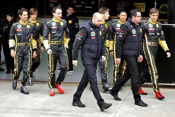 Apenas el martes pasado, Kubica estuvo en Valencia, España en la present...