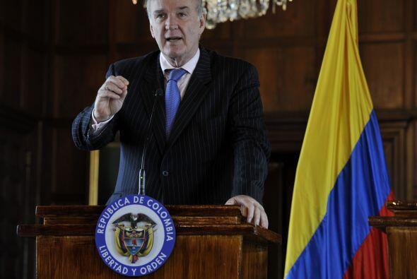 El canciller peruano José Antonio García Belaunde afirm&oa...