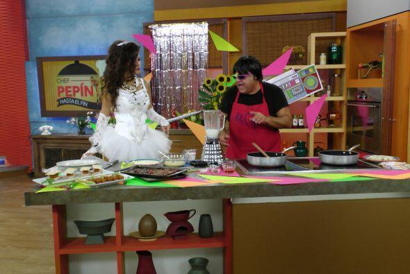 En la cocina, El Chef Pepín preparó unas fáciles y prácticas 'croquetas...