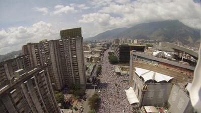 Venezuela marchó este sábado y el mundo dijo #SOSVenezuela