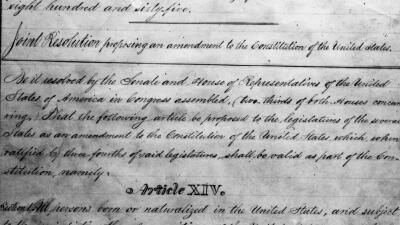 """""""EEUU, país de inmigrantes definido por ideales y no por linaje de sangre"""": una explicación de la Enmienda 14 que Trump quiere cambiar"""