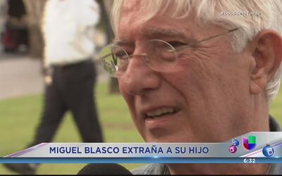 Miguel Blasco llora por su hijo  y dice que vive una injusticia