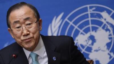 El secretario general de la ONU, Ban Ki-moon, propuso al Consejo de Segu...