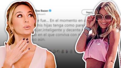 """Geraldine Bazán dice lo que piensa de Irina Baeva: no es """"buena mujer"""" ni """"decente"""""""