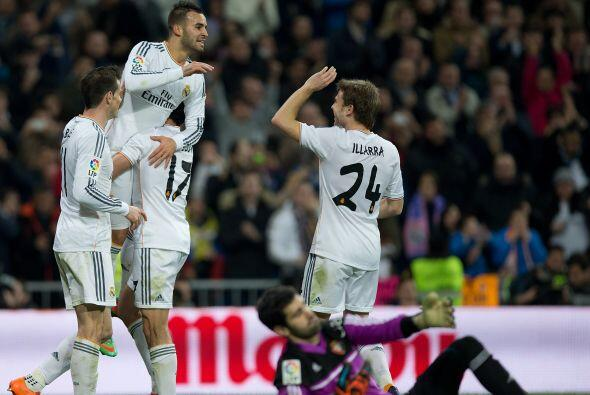 El atacante aprovechó un pase de Cristiano Ronaldo para firmar el 2-0.