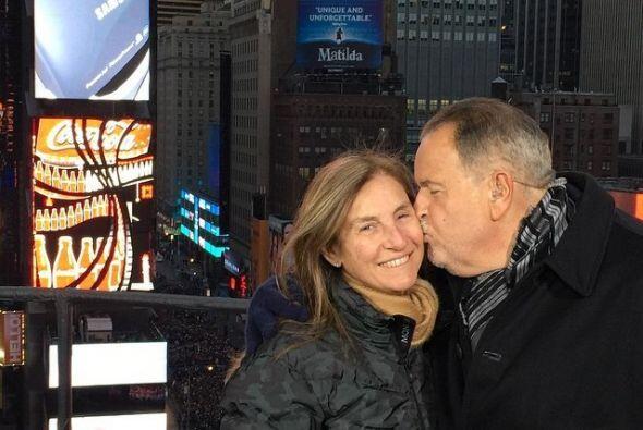 Raúl y su esposa Milly.