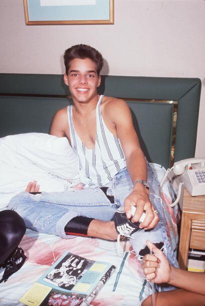 En 1988 parecía que lo tenía todo: fama, giras, conciertos...