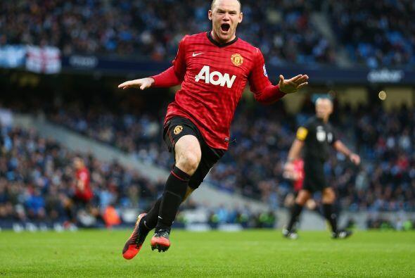 Cierra el equipo europeo el inglés Wayne Rooney.