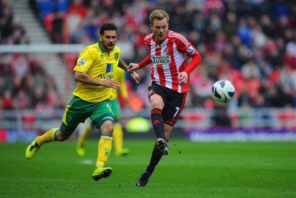 En el último duelo de la jornada, el Sunderland y el Norwich City iguala...