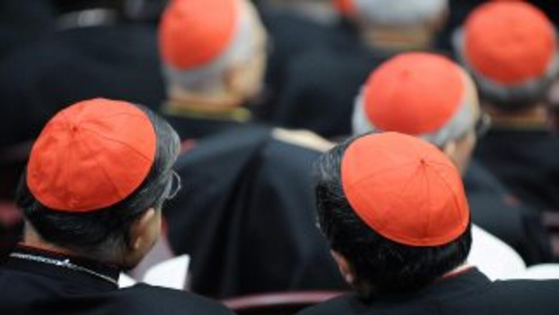 Más de 150 cardenals se reunieron por primera vez con el Papa Benedicto...