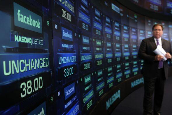 18 de mayo. Facebook debuta en la Bolsa de Valores. Las acciones de la r...