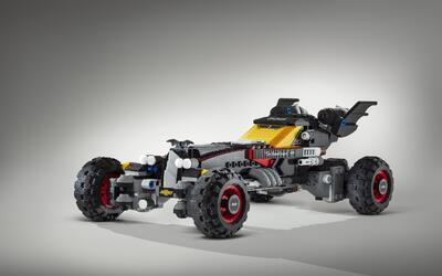 Este es el Batimóvil de 'The Lego Batman Movie'