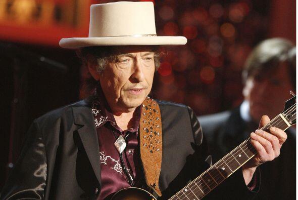 Uno de sus artistas preferidos es Bob Dylan, aunque en su lista también...