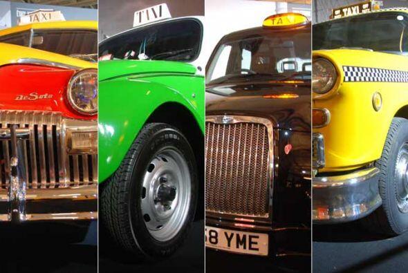 Hay modelos de taxis que se identifican inmediatamente con la ciudad com...