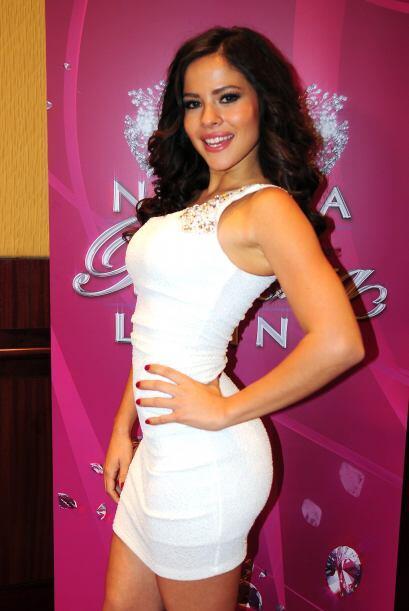 Gloricely Loug de México, audicionó en Los Ángeles. Ella es una de bella...