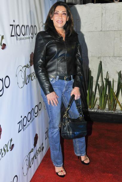 Cynthia Klitbo interpretó a la madrina de Teresa.