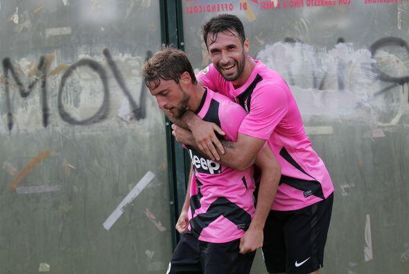 Marchisio hizo el gol con el que ls 'Juve' sacó un apretado triunfo por...