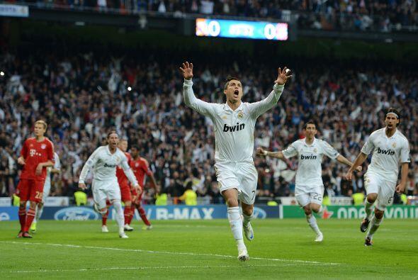 El Real Madrid se puso 1 a 0 y Cristiano Ronaldo comenzó su noche histór...