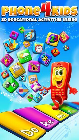 PHONE FOR KIDS - Con 30 emocionantes juegos y un colorido piano que le e...