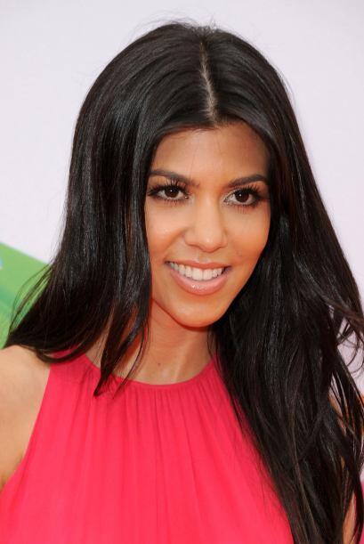 Kourtney Kardashian, de 32 años, es la única que tiene bebés en la familia.