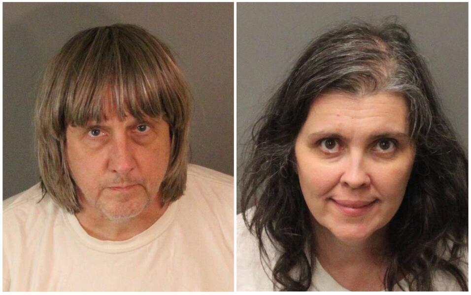Louise Anna Turpin, de 49 años, y David Allen Turpin, de 57.