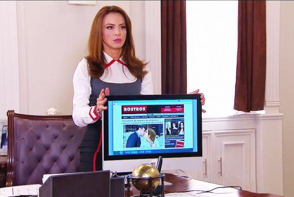 Ana descubrió una falsa noticia donde aparecía besando a Fernando.