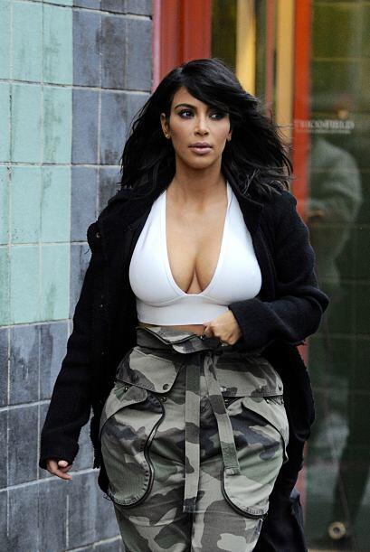 Kim debería de pensar en su salud antes de ser tan vanidosa.