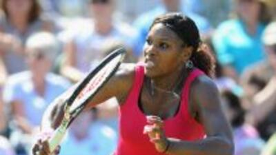 Serena Williams no disputaba un encuentro oficial desde el 3 de julio de...