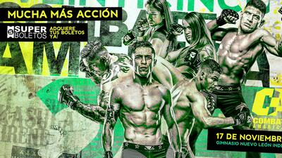 'Goyito' Pérez y 'Doble A' Ayala pelearán en la estelar de Combate Américas Monterrey